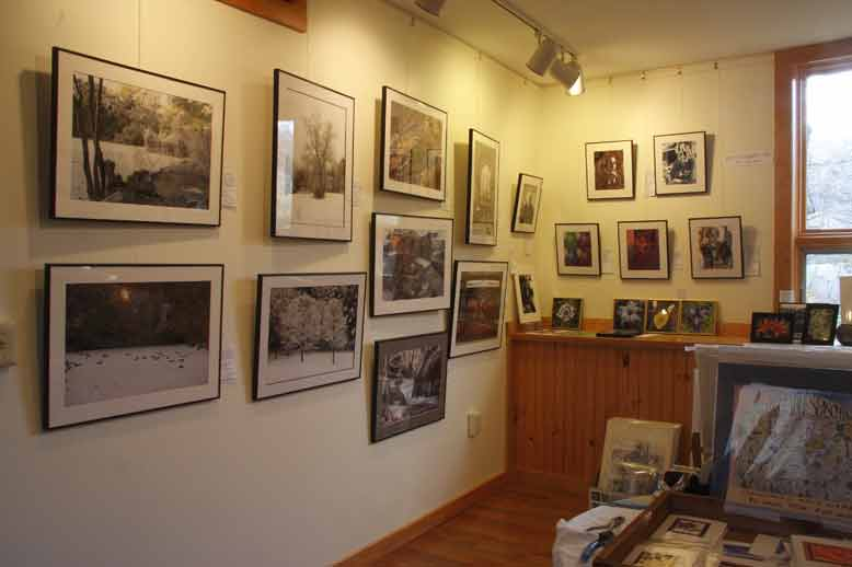 another view of Gan Eydn Gallery
