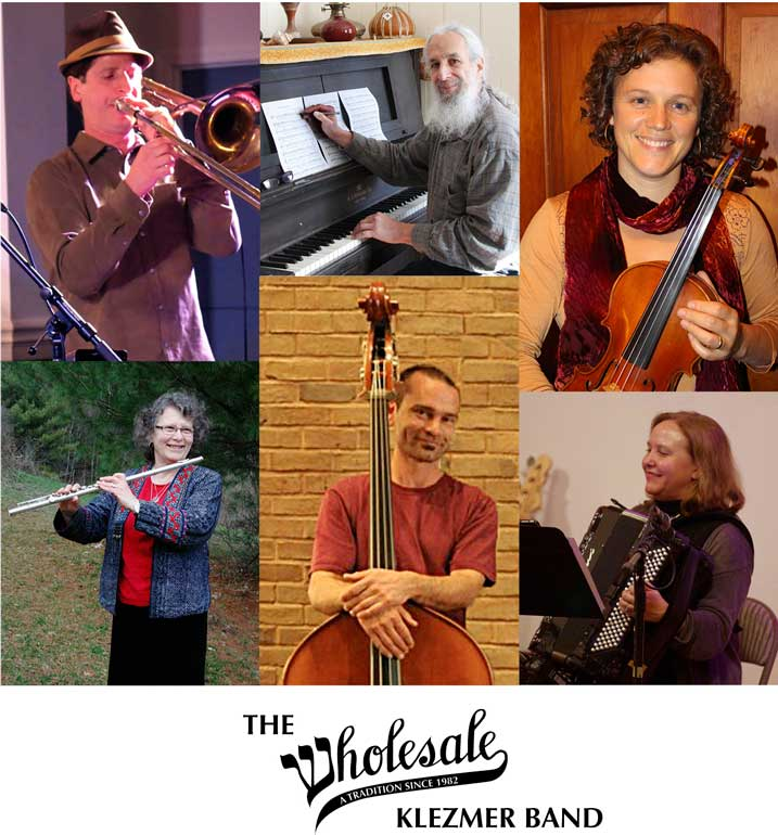 Members of the Wholesale Klezmer Band 2018